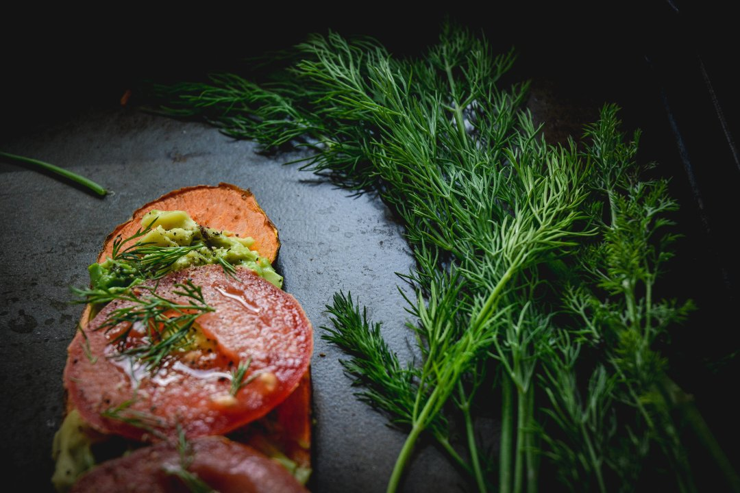 tomatoes and dill