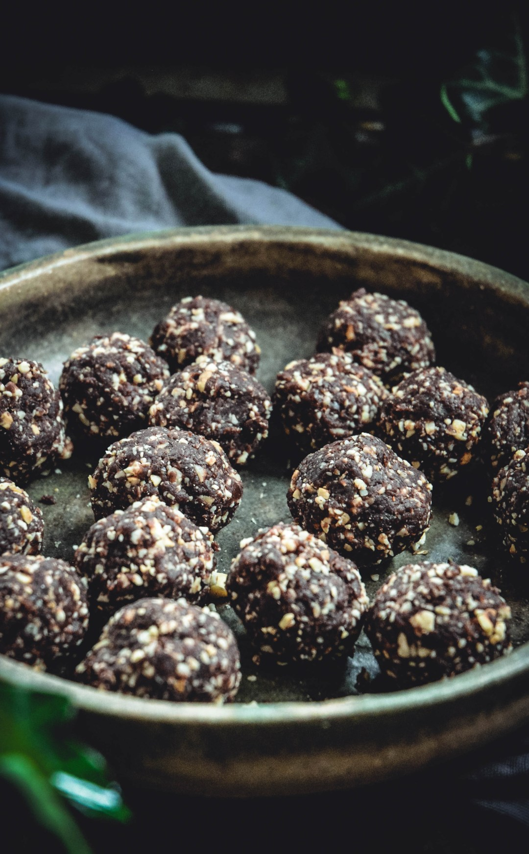 chocolate hazelnut balls