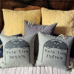 Cricut Halloween Bedroom Decor Tombstone Pillow Diy Halloween Blackout Shades Crafty Lumberjacks
