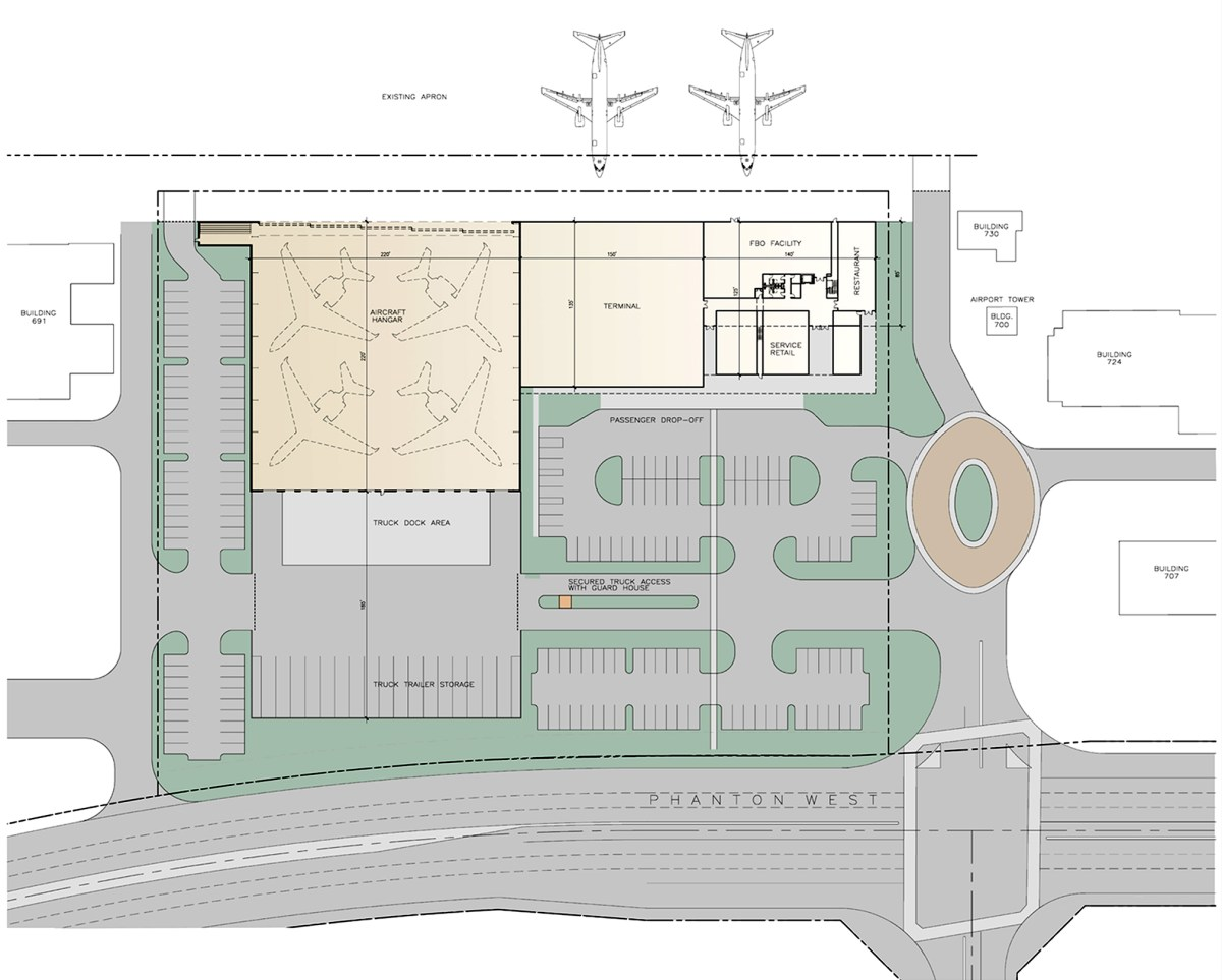 FBO Terminal Facility Conceptual Design — GAA Architects