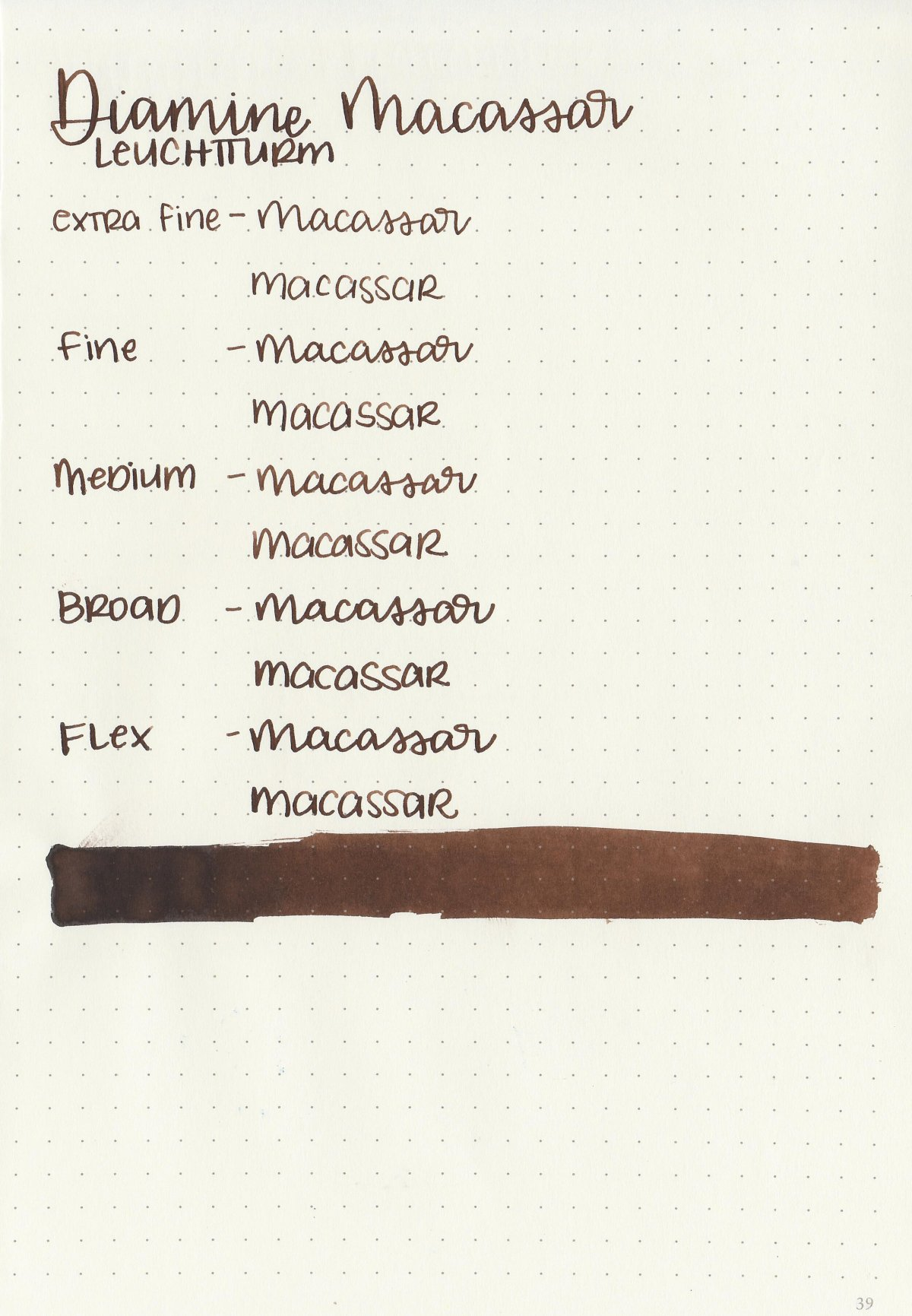 Best brown fountain pen inks