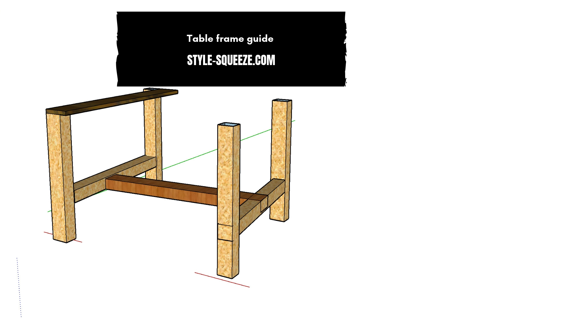 diy pallet wood aztec table the easy