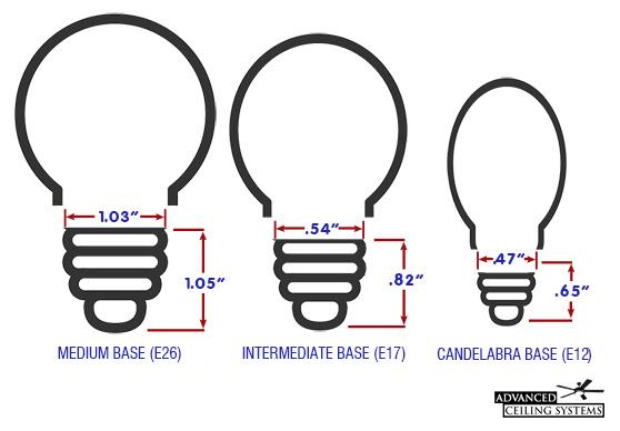 buy hampton bay ceiling fan light bulbs
