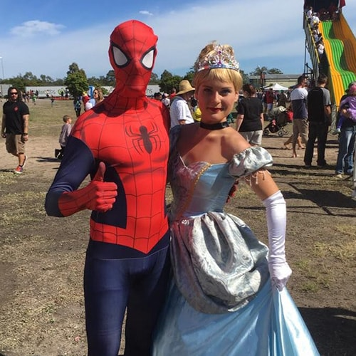 Hire Characters For Kids Party Superhero Princess Themed Parties