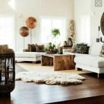 Elegant Boho Living Room By Albie Knows Interior Design And
