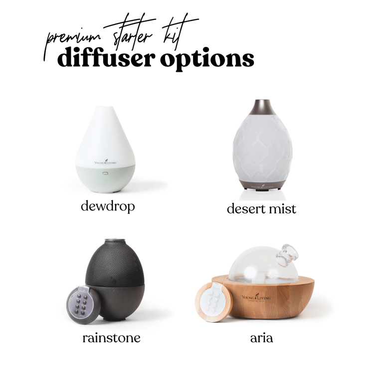 young living diffuser options in starter kit