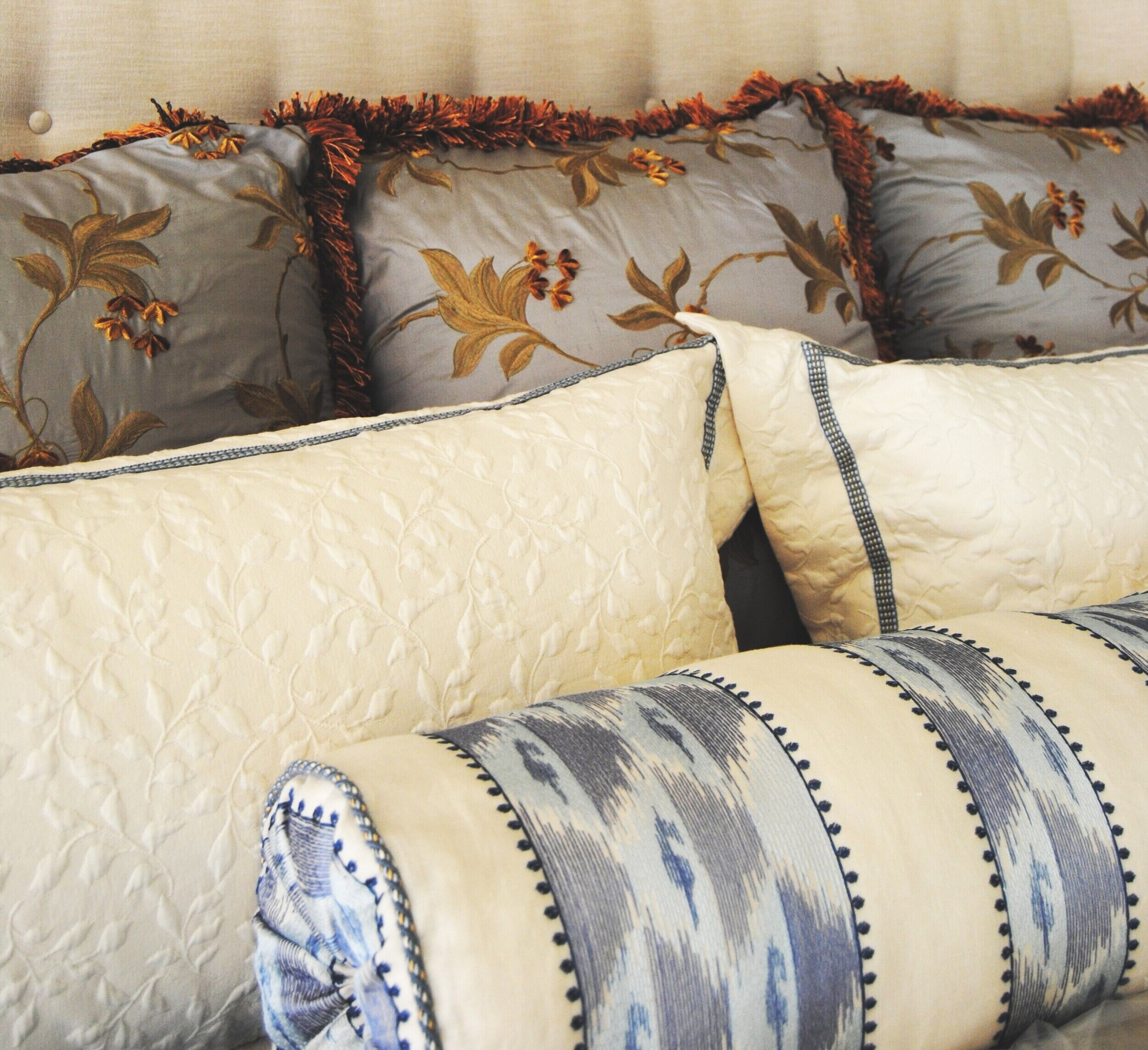jrl interiors how to style a bed