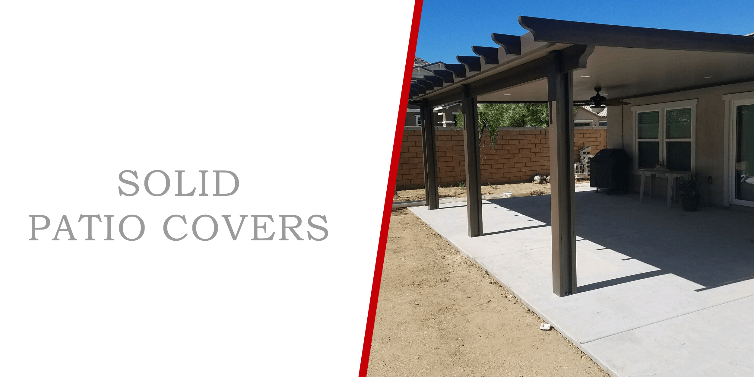 solid patio covers superior patios