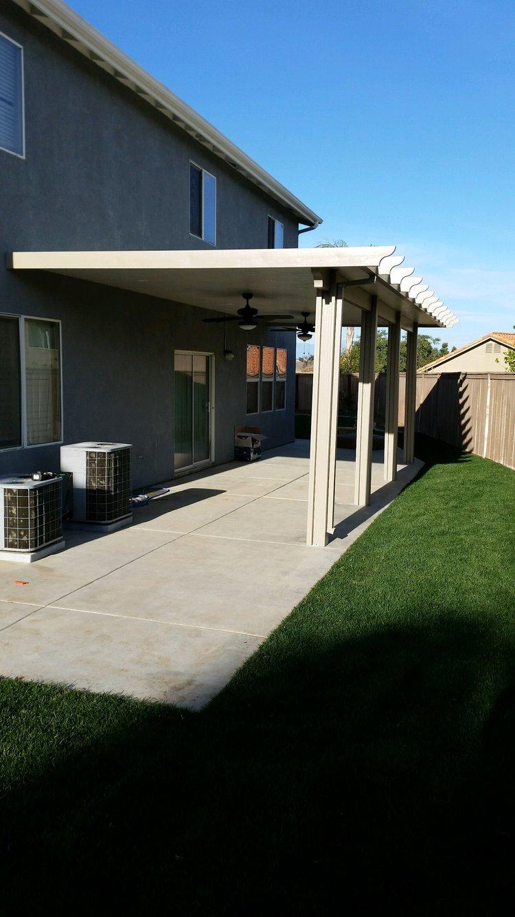 aluminum patio covers corona