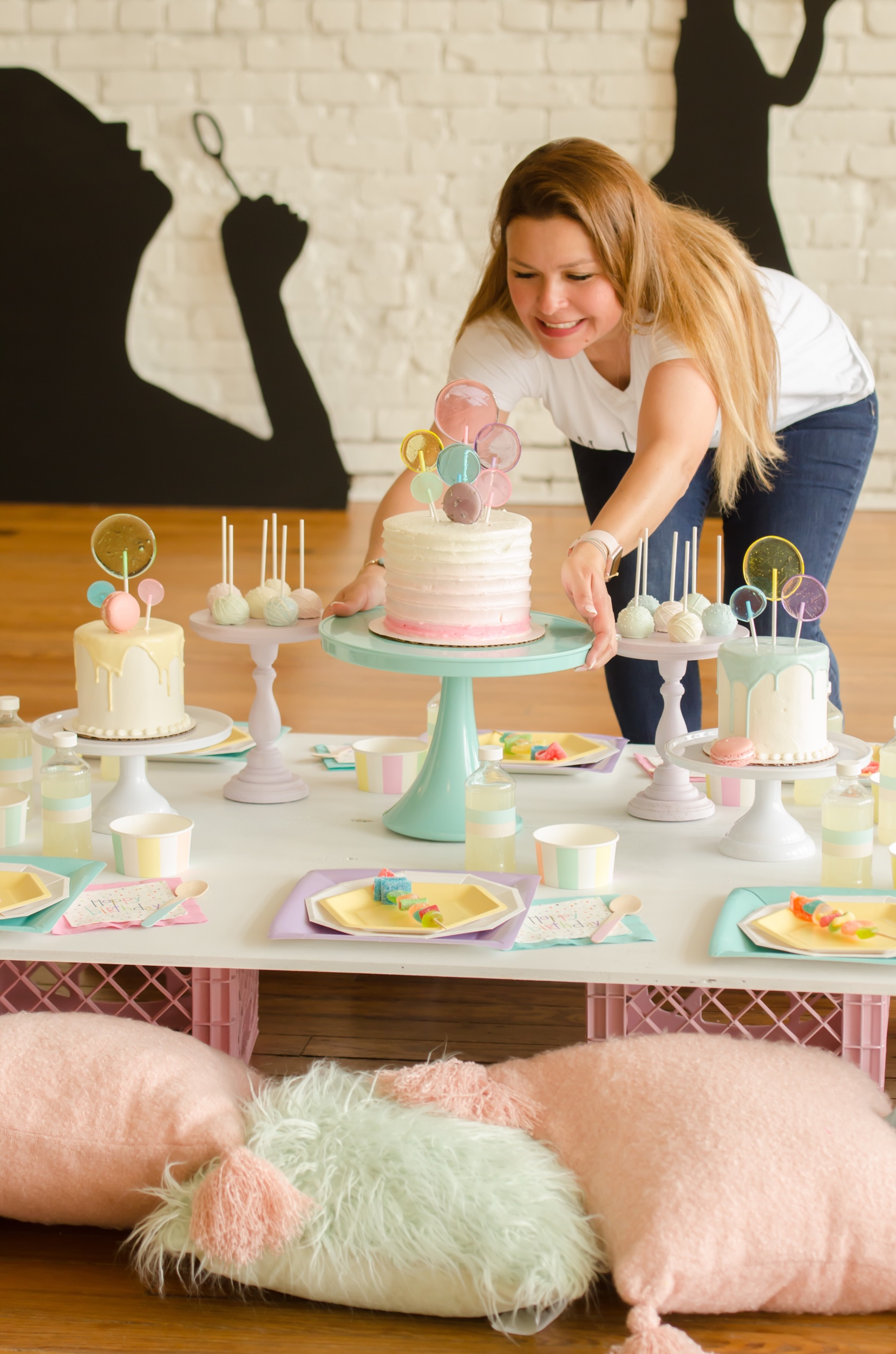 Bubble Themed Birthday Party Ideas Mint Event Design