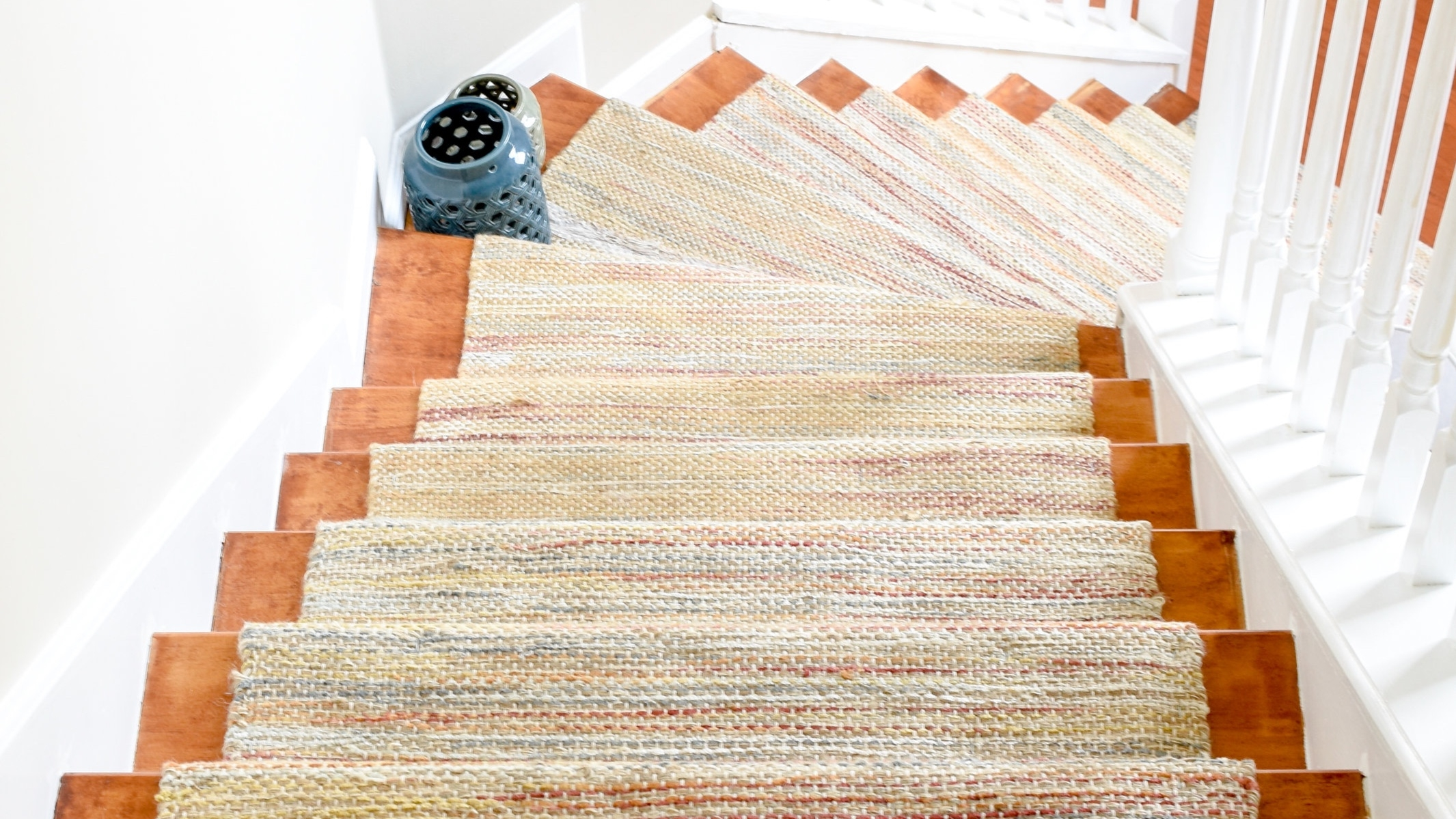 Diy Hardwood Staircase Makeover Replacing Carpet With Wood Treads | Flooring For Stairs Not Carpet | Stair Tread | Stain | Staircase Makeover | Bullnose Carpet | Laminate Flooring