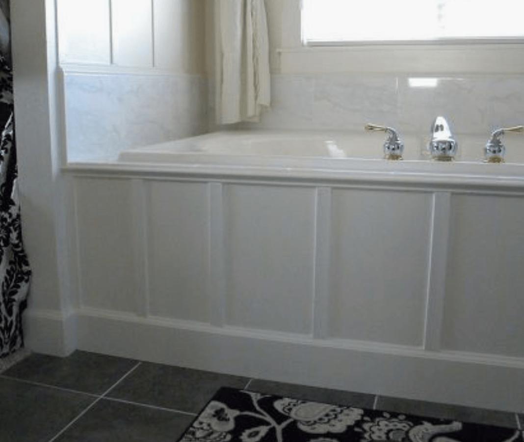 ideas to coverup your bathtub surround