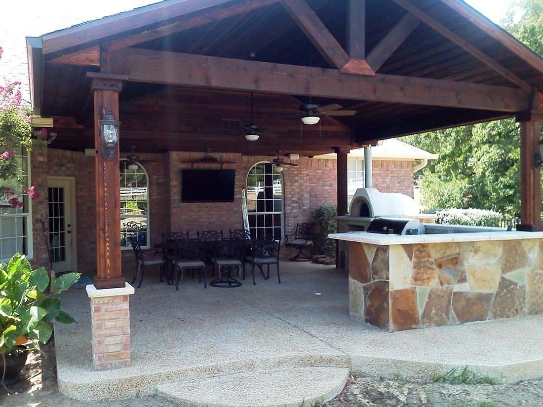 outdoor living bmr pool patio