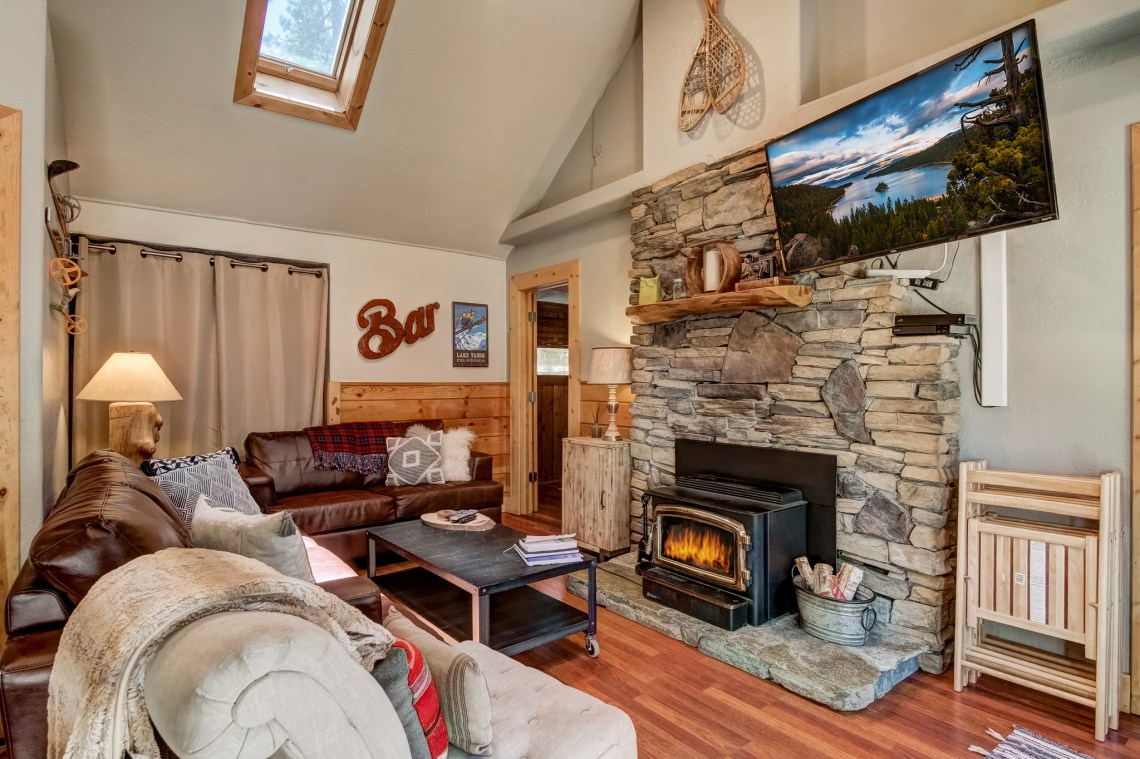 Classic Tahoe Cabin with Modern Updates