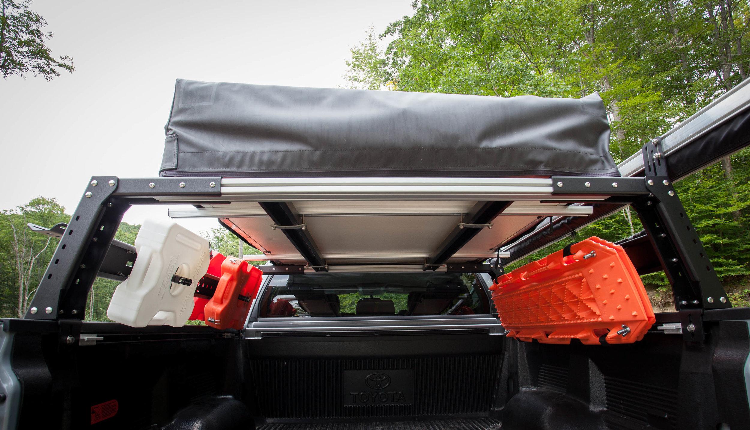 max modular alumax 14 high aluminum bed rack fits all toyota ford chevy ram and nissan trucks max modular truck bed racks