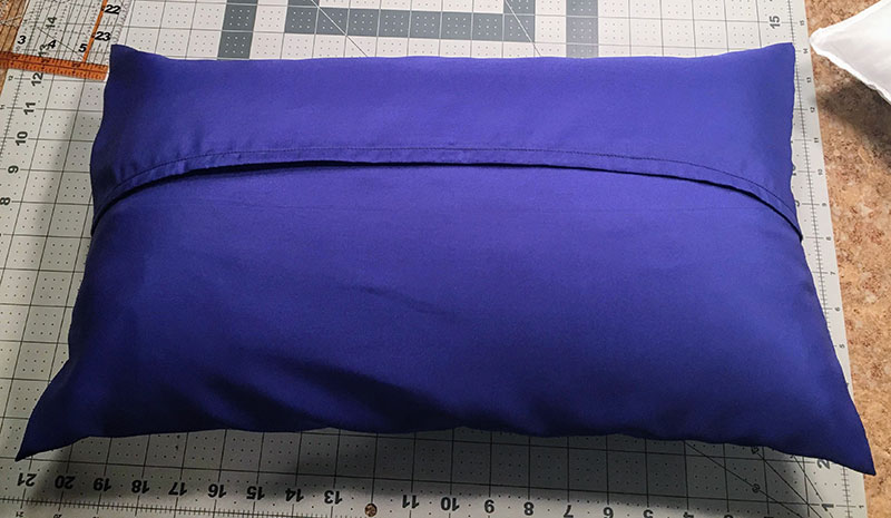 sew this easy pillow sham the