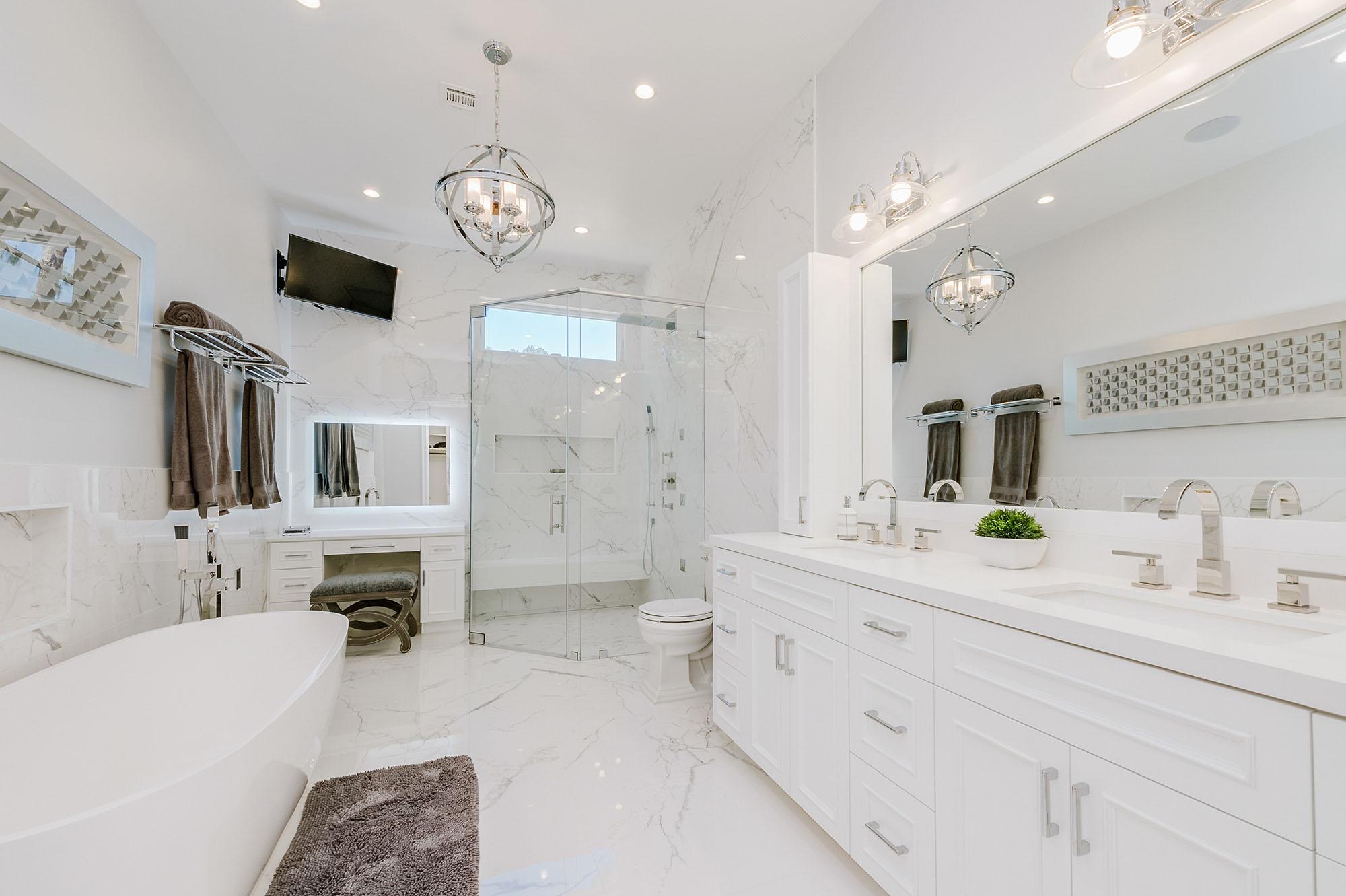 los angeles bathroom tiles spazio la