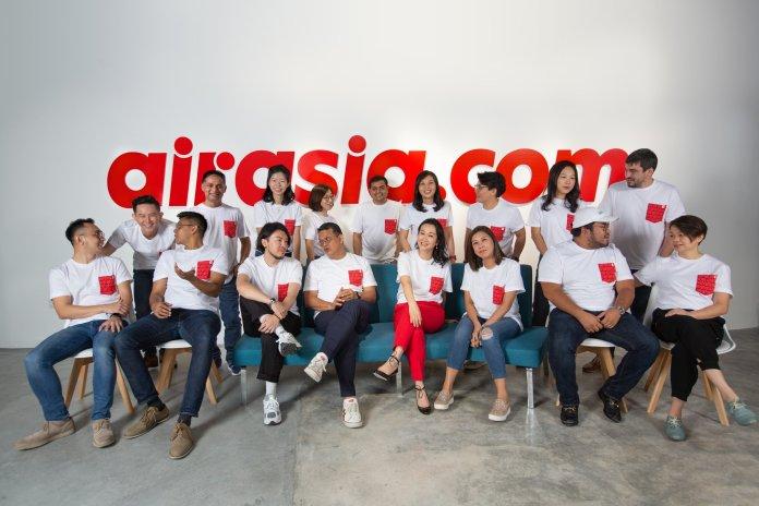 airasia.com的管理團隊