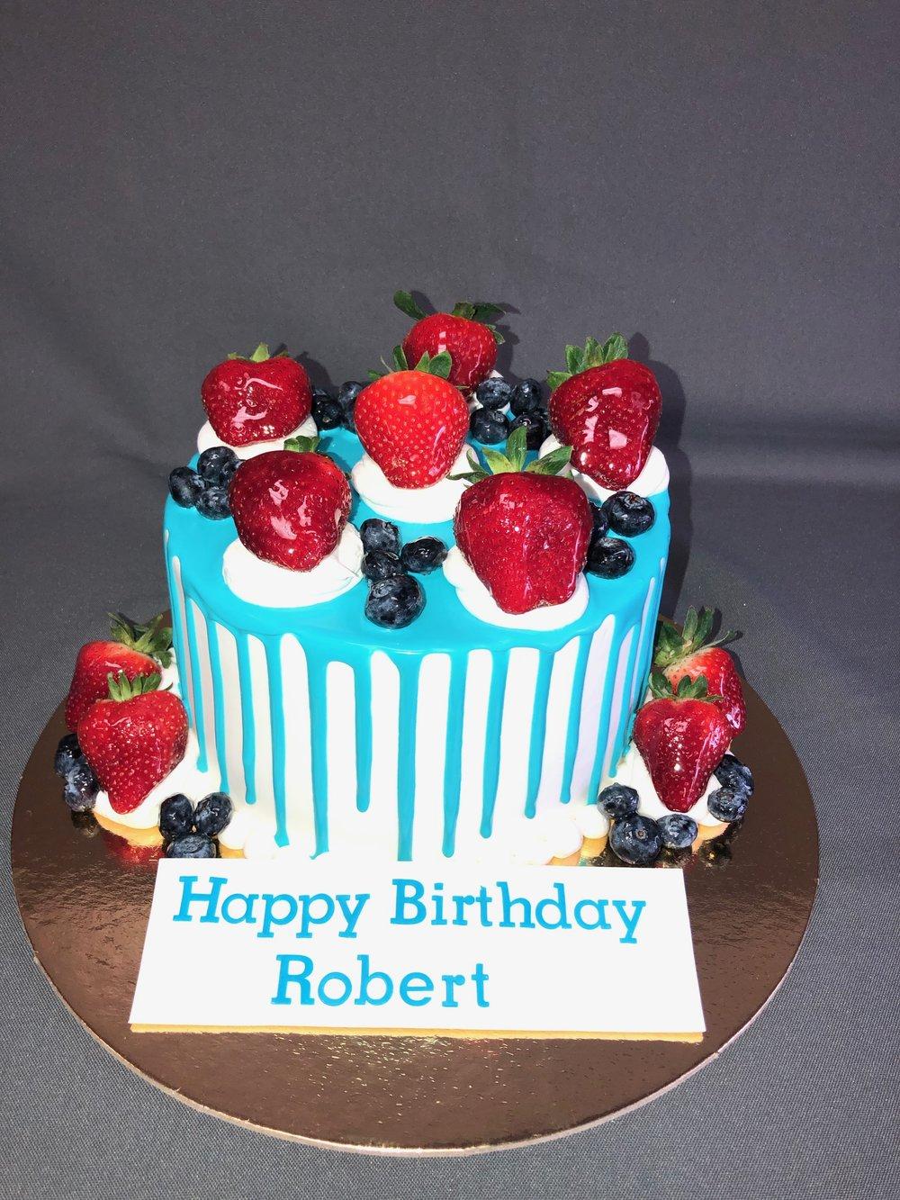Birthday Cake Skazka Desserts Bakery Nj Custom Birthday Cakes Cupcakes Shop