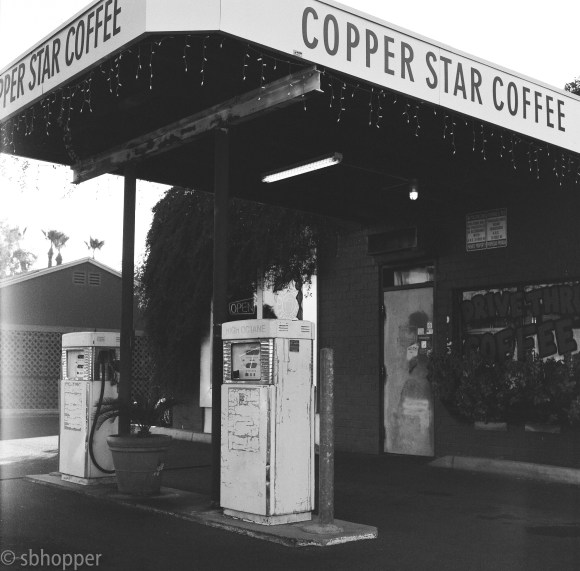 Copper Star Coffee, Phoenix, shot on Hasselblad 500c/m.