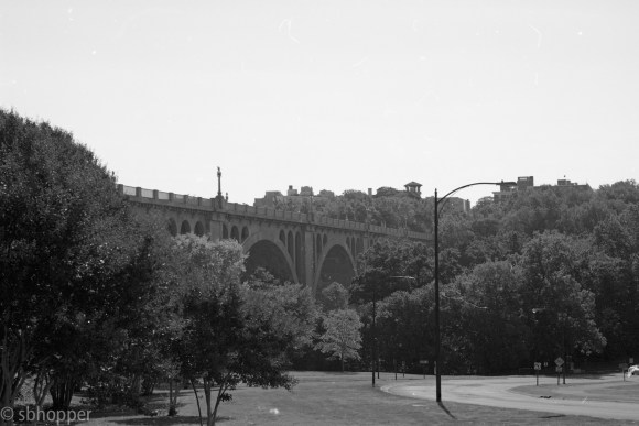 Just not a good photo. It was my favorite bridge in DC. I probably shot this in the worst possible light. With haze.