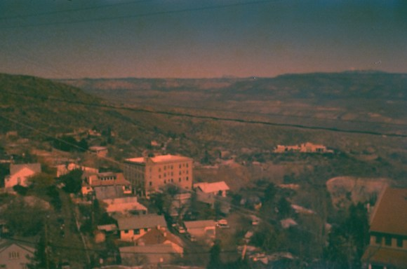 Jerome, Arizona, January 2019. Here's one of the images I got with the expired film in the Beauty Super II.