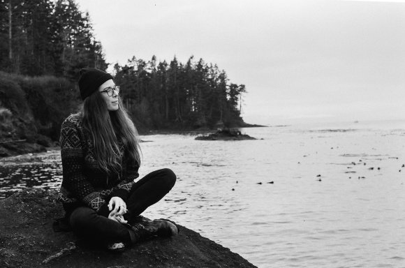 Kate, Salt Creek, Port Angeles, winter 2019.