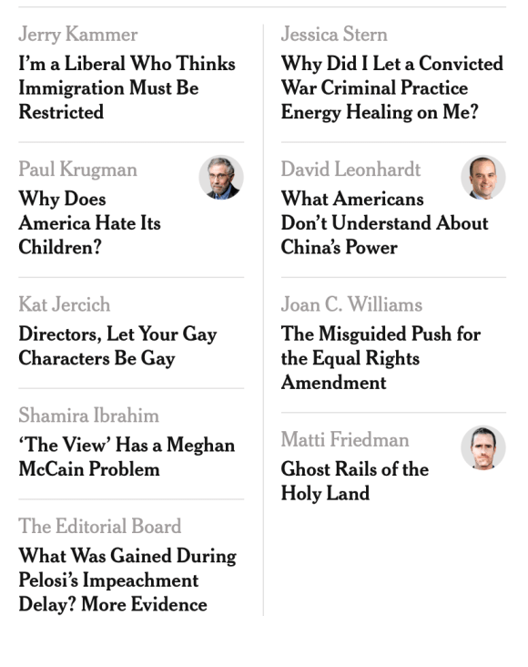 Fair is fair. My subscription is with The New York Times. Do I feel smarter? I shouldn't.