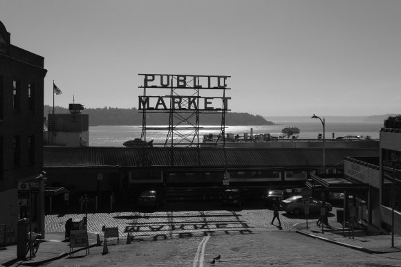 Pike Place Market, Seattle, 21 March 2020.