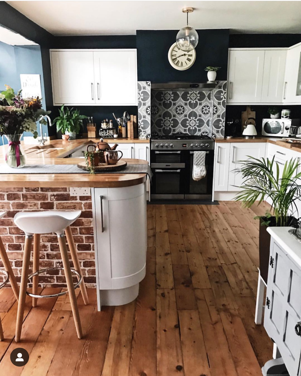 I love everything about my kitchen, but it's always the flooring that gets the most comments