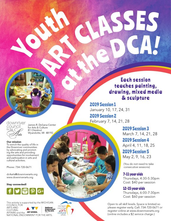 After School Art Classes - 2019 First Half — Downriver Council for ...