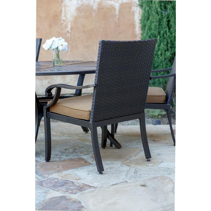 bourlier s sunvilla fauxwood rectangular fire table and chairs set