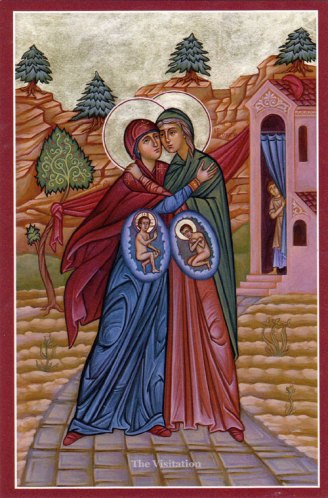 Feast of the Visitation of Mary to Elizabeth — Passionist Nuns