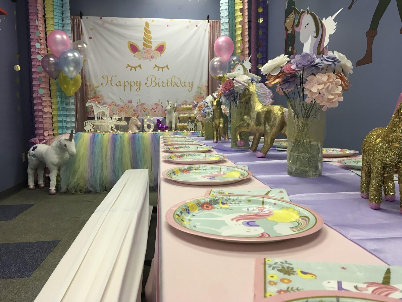 Unicorn Theme Kids Birthday Party Metro West Orlando Fl Princesses Princes