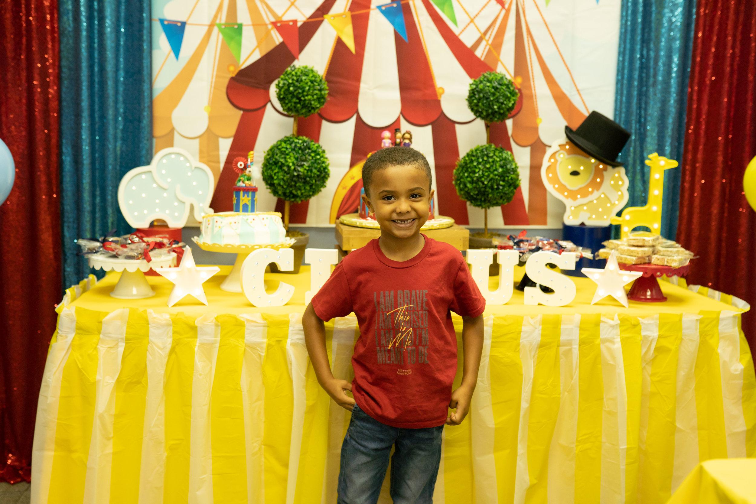 Circus Themed Kids Birthday Party Orlando Ocoee Fl Princesses Princes