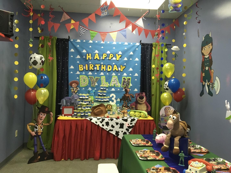 Toy Story Theme 3 Year Old Birthday Party Orlando Fl Princesses Princes