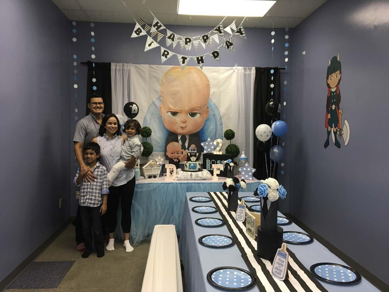 Smart Idea Boss Baby Birthday Decoration Ideas