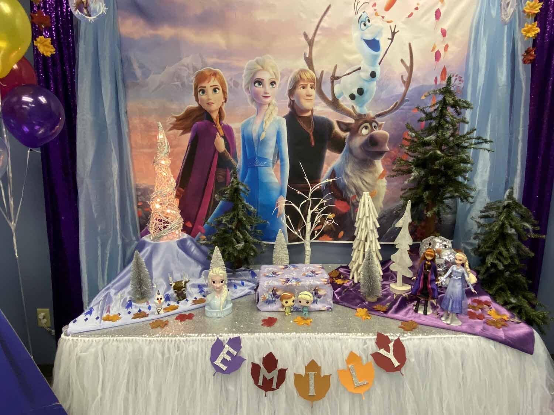 Frozen 2 Kids Birthday Party Decorations Orlando Fl Princesses Princes