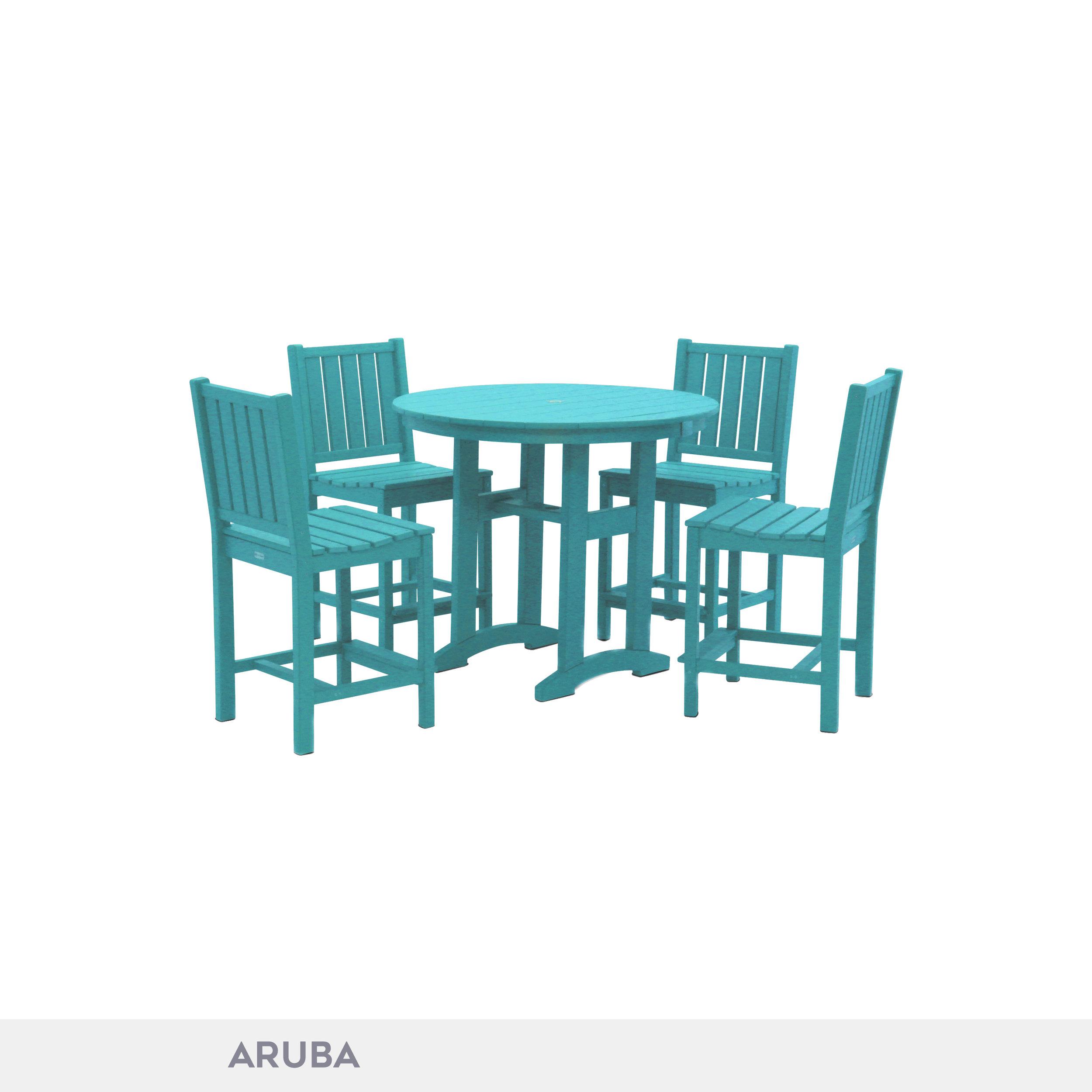 durogreen lewiston counter height side chair dining set durogreen outdoor