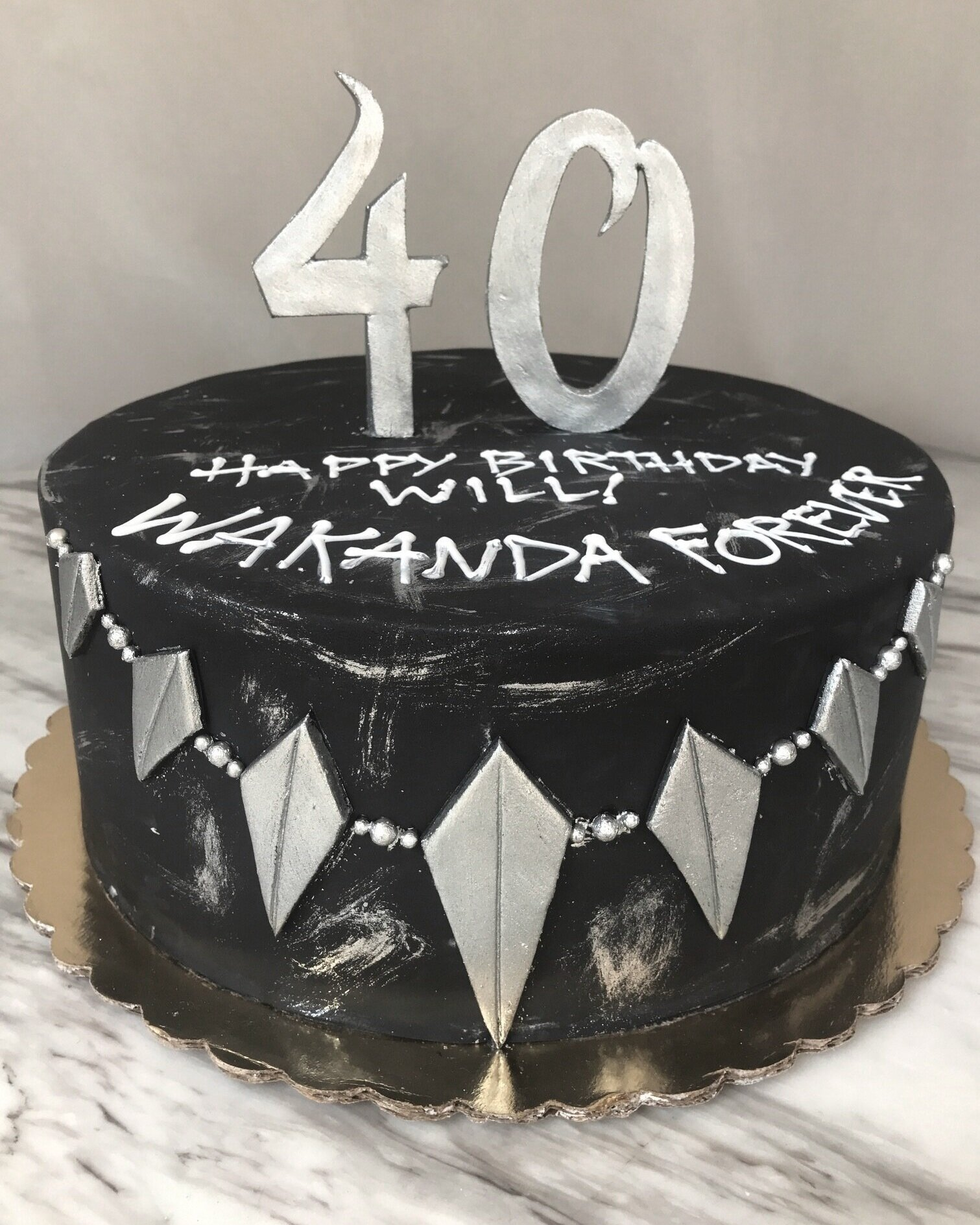 Home Kitchen Birthday Candles Black Panther Birthday Candle