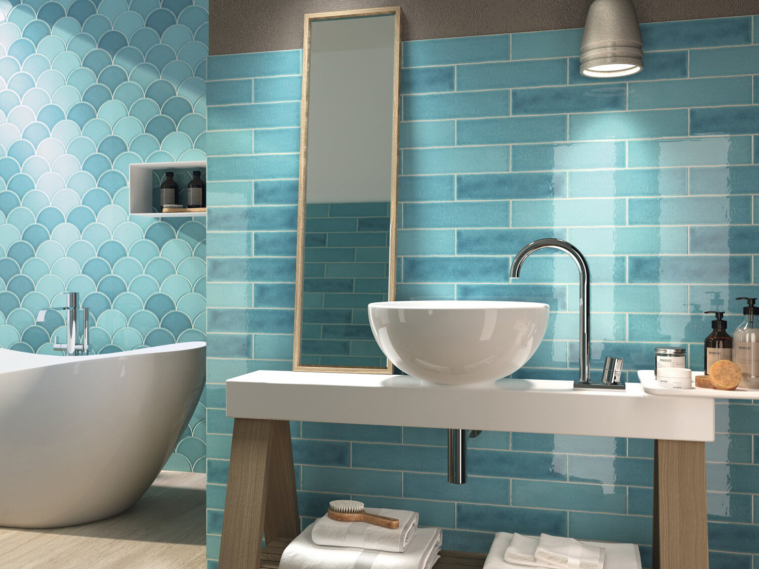 shop online for fish scale shaped tiles eg everton glass in liverpool