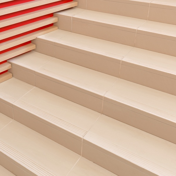 Tiling Stairs — Tile Direct   Stairs Tiles Design For Home   Outside Staircase   Stair Tread   Color   Exterior   Custom