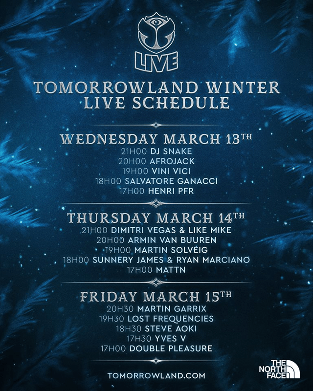 WATCH LIVE: Tomorrowland Winter 2019 - CULTR