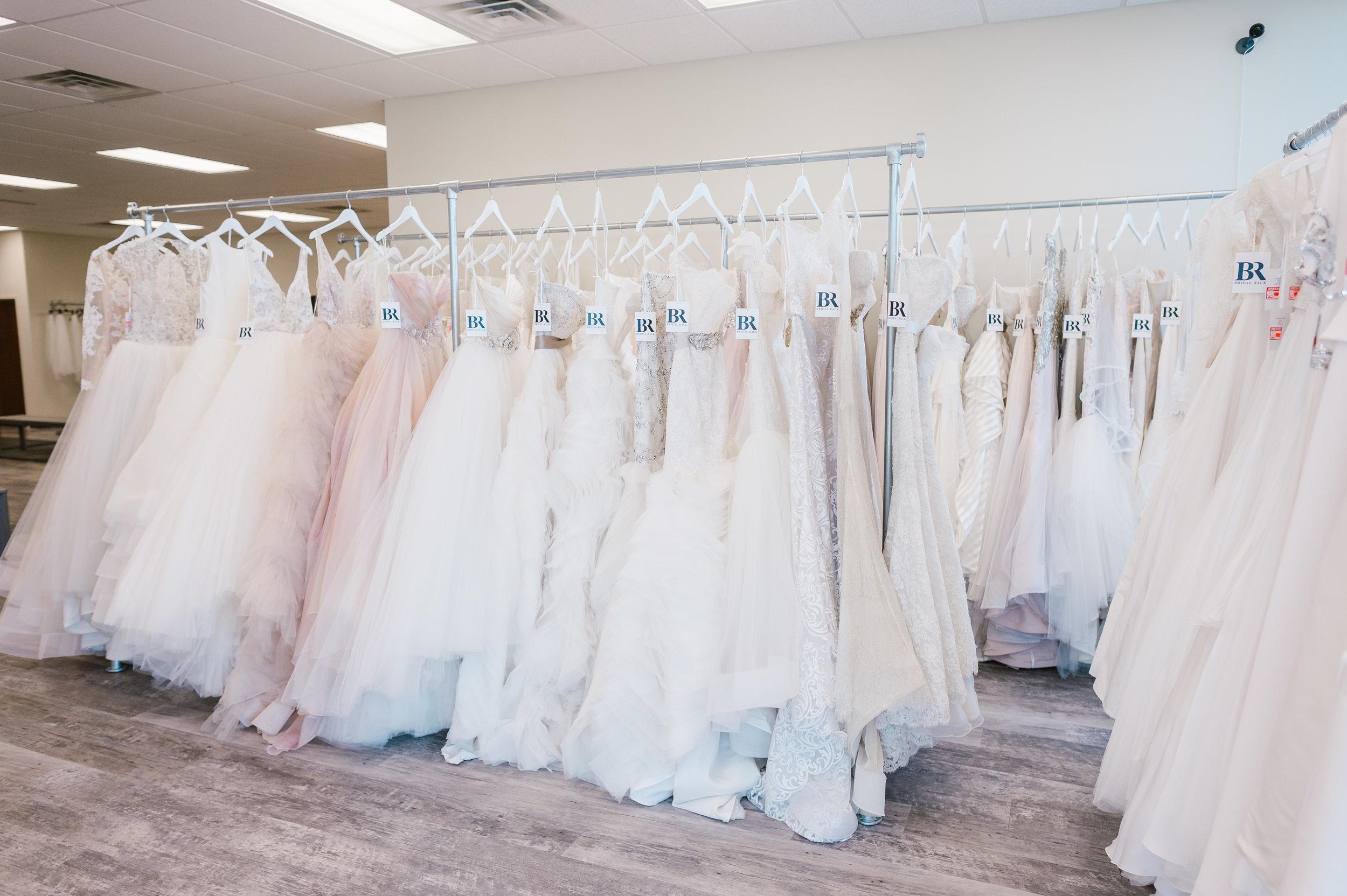 bridal rack