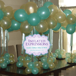 Topiary Tree Balloon Centerpiece Inflated Expressions