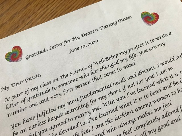 Write Gratitude Letters to Boost Your Happiness — The Affirming