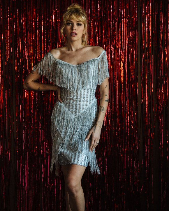 The Dolly Parton Shimmer Fringe Dress — Vintage Valentine