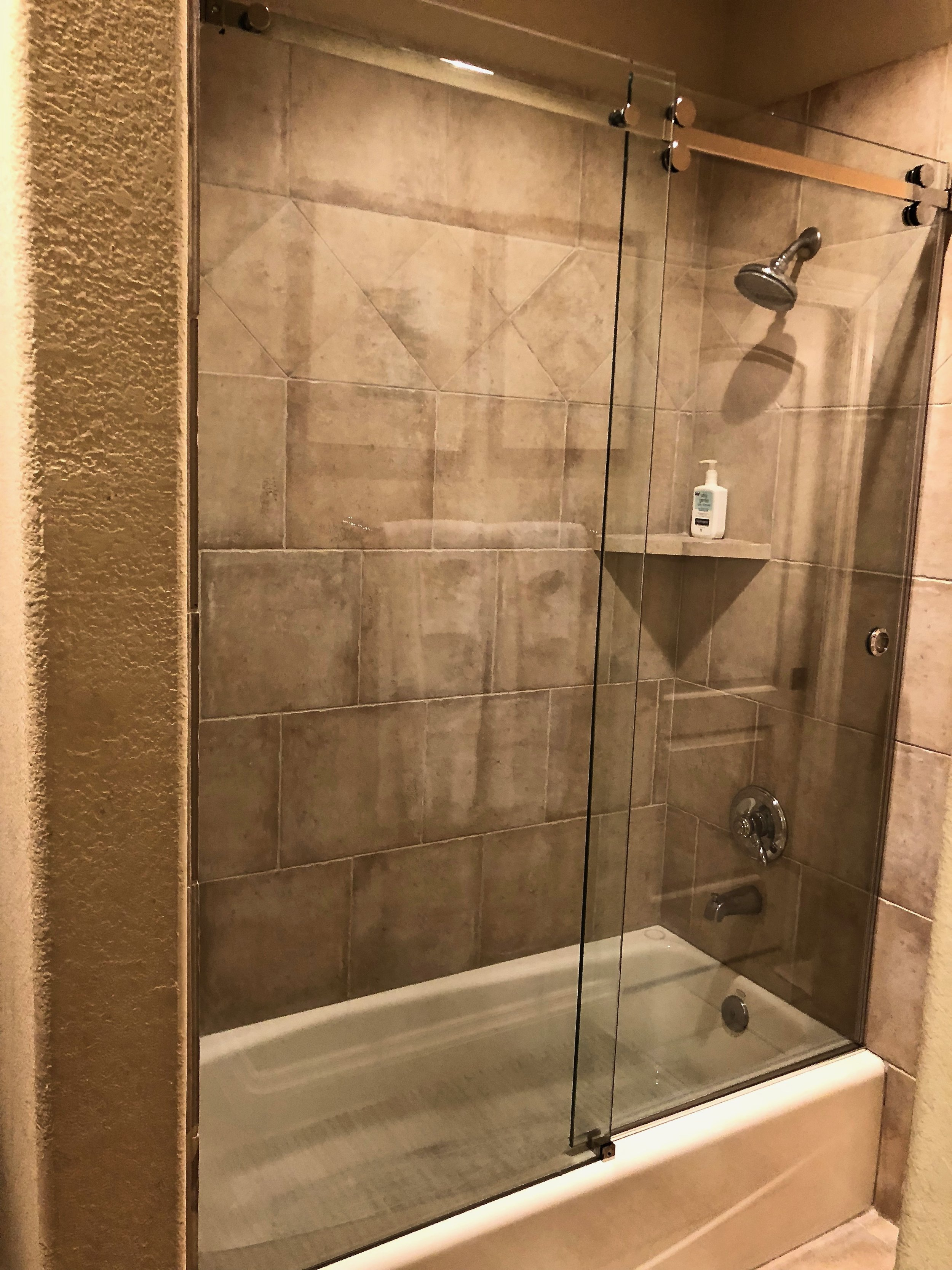 take down the curtain glass options