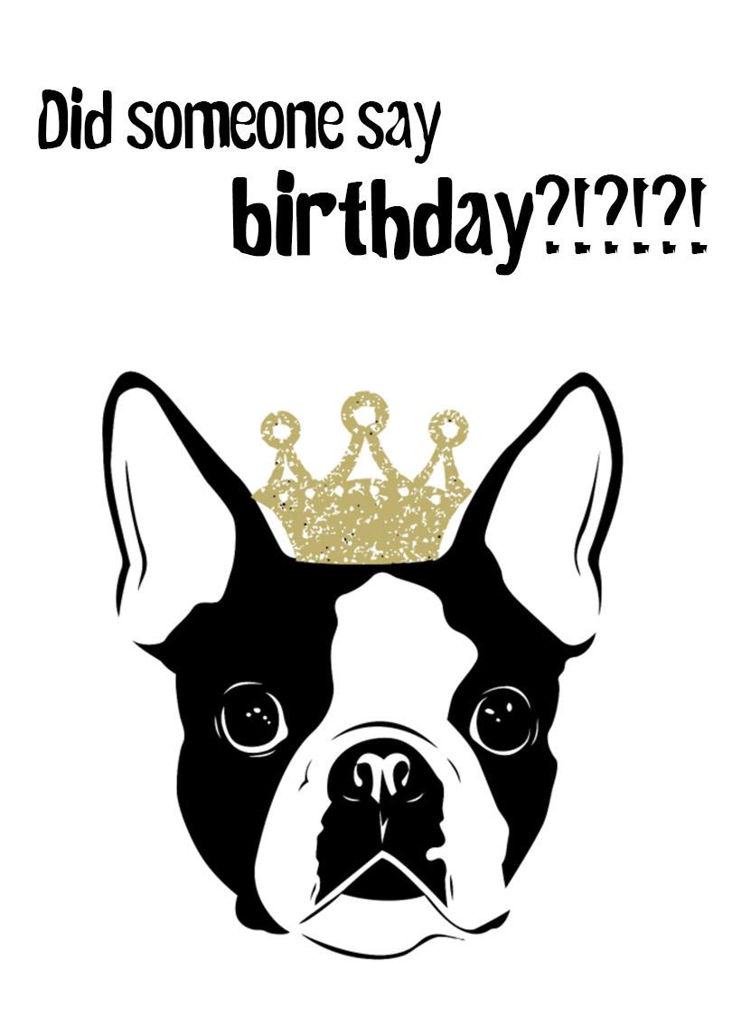 Dog Birthday Card Free Printable Birthday Cards Printbirthday Cards
