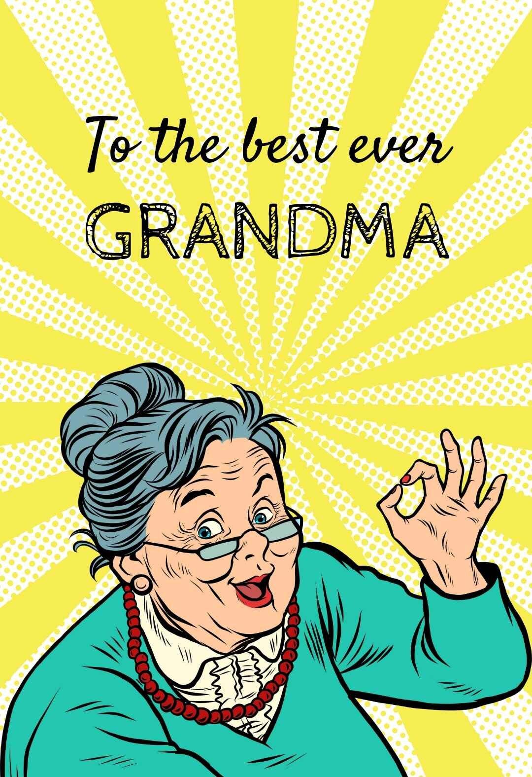Grandma Printable Birthday Cards Printbirthday Cards